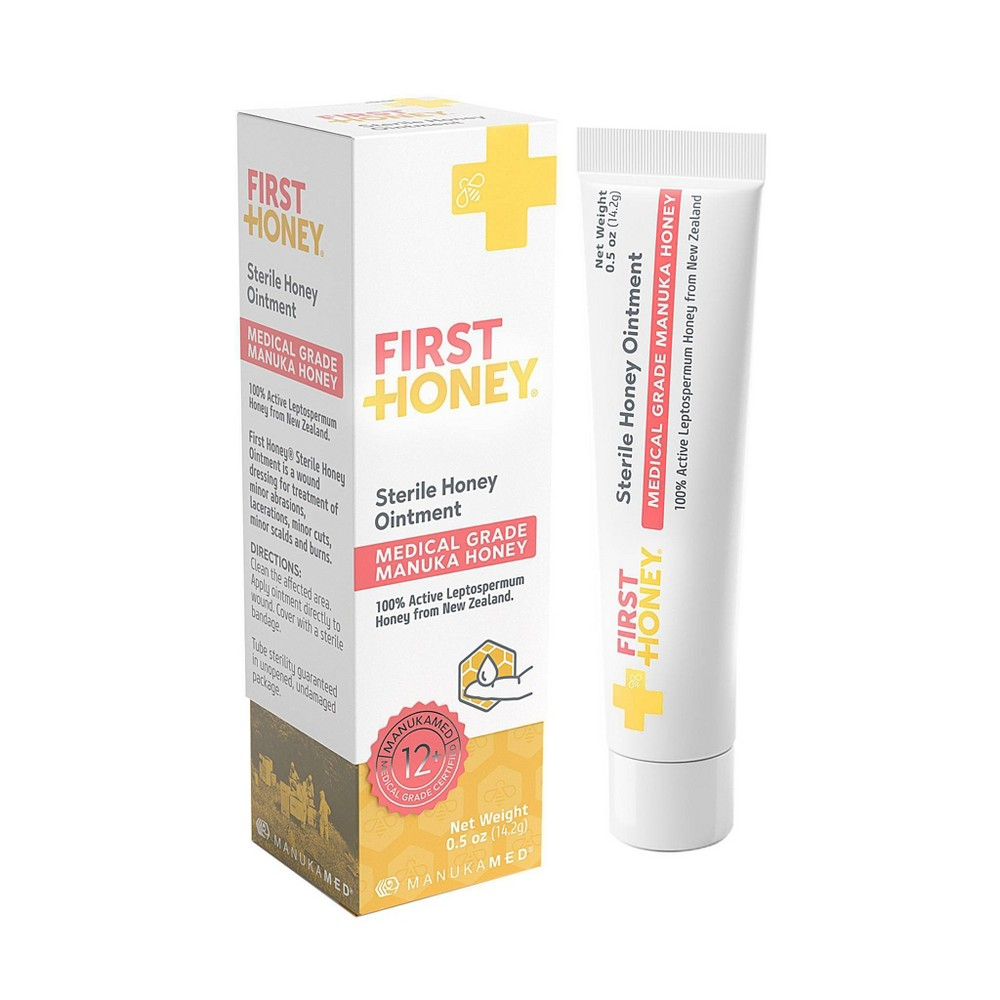 First Honey Sterile Ointment - 0.5oz Top