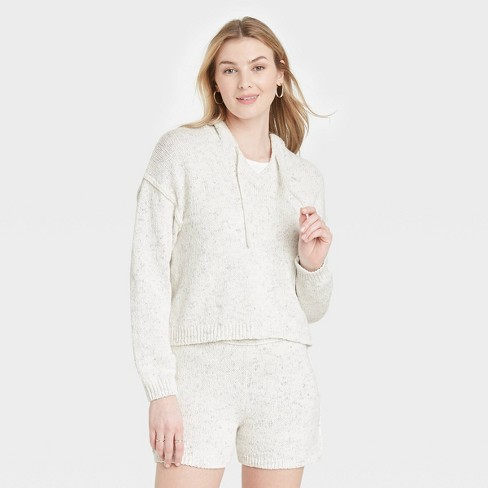 Women's Hooded Pullover Sweater - Universal Thread™ - image 1 of 3