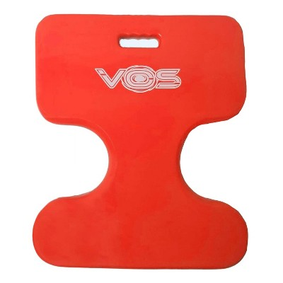 Vos Oasis Water Saddle Swimming Pool Float Lounge Seat for Adults & Kids, Single Rider, Made w/ UV Resistant Foam for Floating, Coral Orange