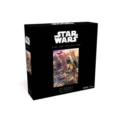 Buffalo Games Star Wars Fine Art Collection: Boba Fett Jigsaw Puzzle - 1000pc