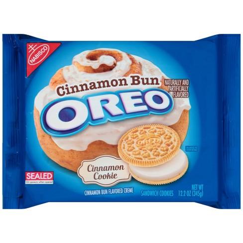 Oreo Cinnamon Bun Sandwich Cookies - 12.2oz - image 1 of 1