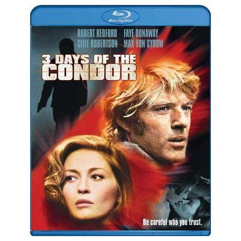 Three Days Of The Condor (Blu-ray) - image 1 of 1