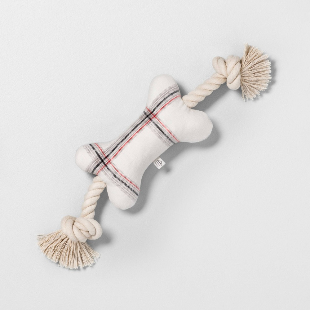 Image of Pet Toy Bone Small - Hearth & Hand with Magnolia, Beige