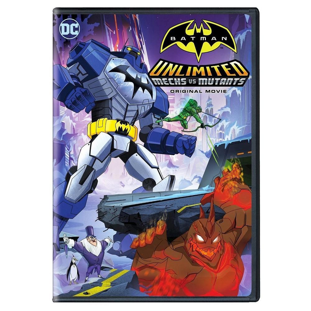 Batman Unlimited Mechs Vs Mutants Dvd