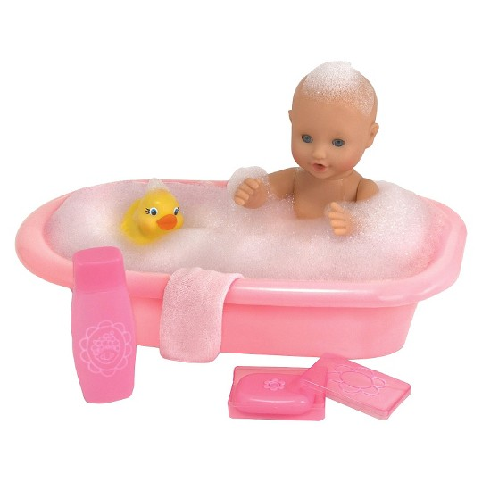 Melissa & Doug Mine to Love Baby Doll Bathtub and Accessories Set (6pc) image number null