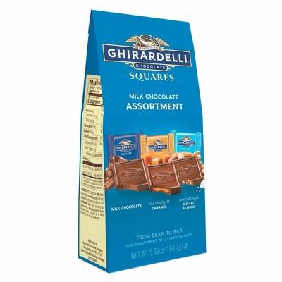 Ghirardelli Premium Milk Assortment Chocolate Squares - 5.66oz