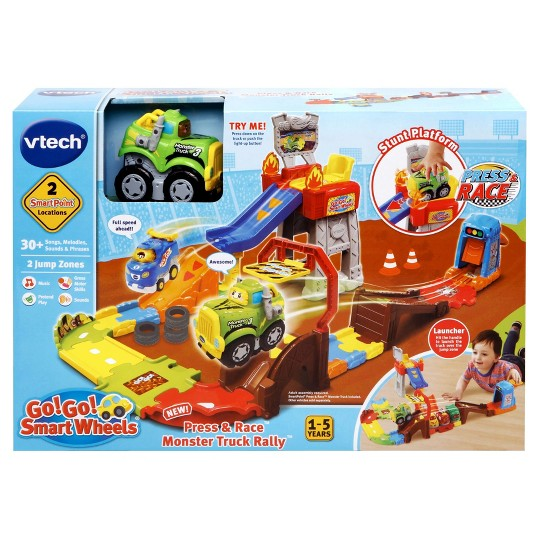 VTech Go! Go! Smart Wheels Press and Race Monster Truck Rally image number null