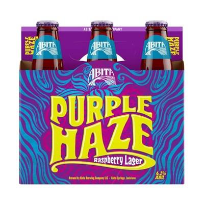 Abita Purple Haze Raspberry Lager Beer - 6pk/12 fl oz Bottles