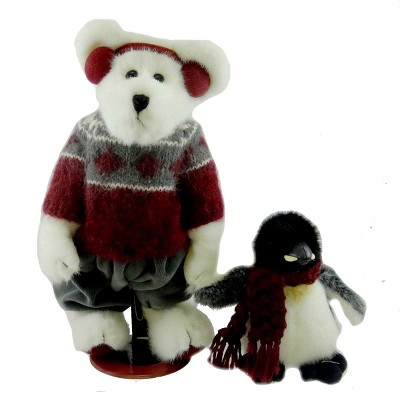 """PUPPETS BOYDS COLLECTION PLUSH BEAR - 10/"""" WINK AND PEEKERS SET OF 2"""