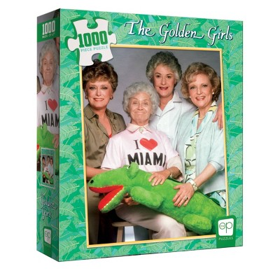 USAopoly Golden Girls: I Heart Miami Jigsaw Puzzle - 1000pc