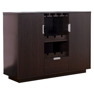 Roslyn Modern Multi-Storage Buffet Espresso - HOMES: Inside + Out
