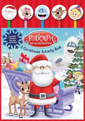 rudolph the red nosed reindeer a christmas activity book paperback target - Rudolph The Red Nosed Reindeer Christmas Decorations