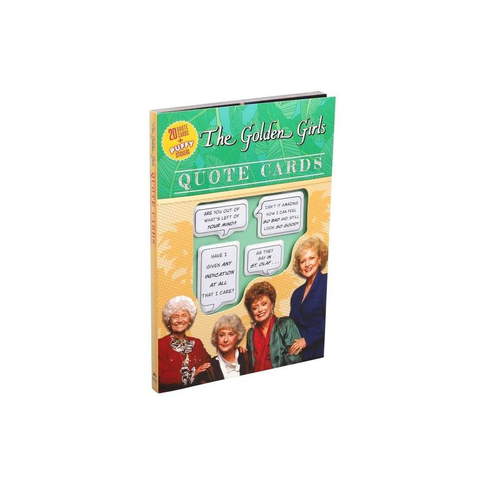 Golden Girls Quote Cards Paperback