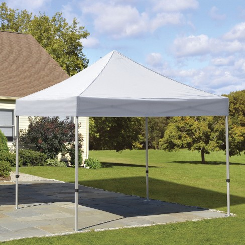 Shelter Logic 10 X 10 Alumi Max Pop Up Canopy White Target