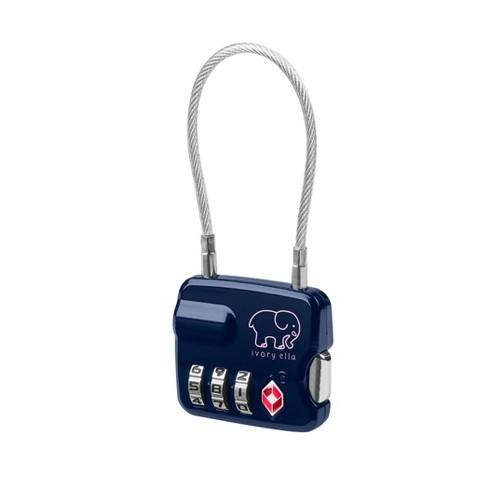 2f745390a Ivory Ella Luggage Lock - Blue   Target