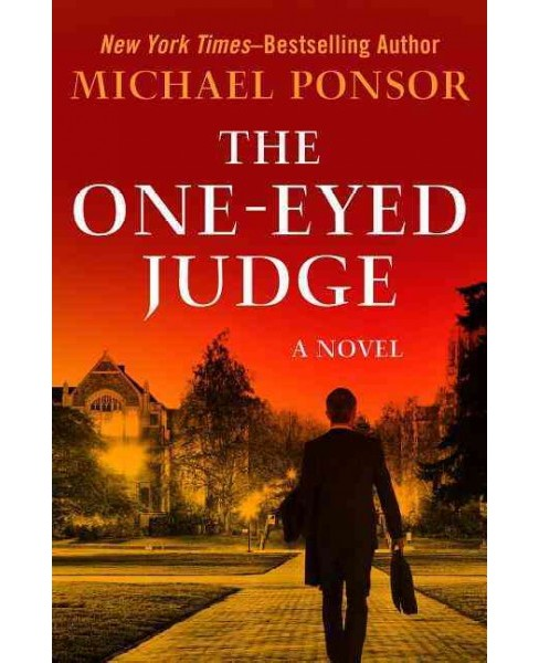 One-Eyed Judge -  (The Judge Norcross Novels) by Michael Ponsor (Paperback) - image 1 of 1
