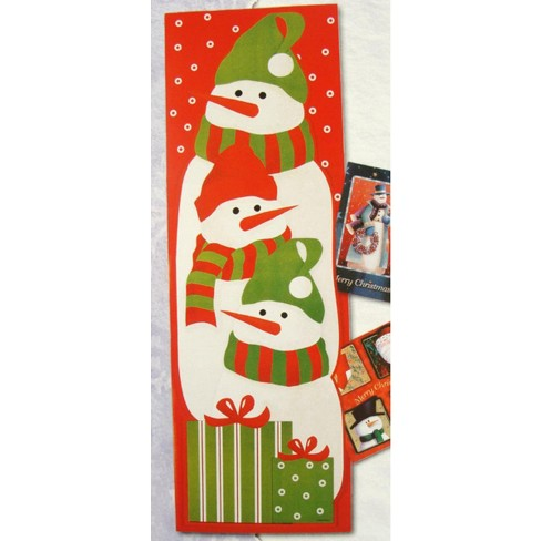 Northlight Club Pack Of 108 Snowman Christmas Card Wall Holders 36