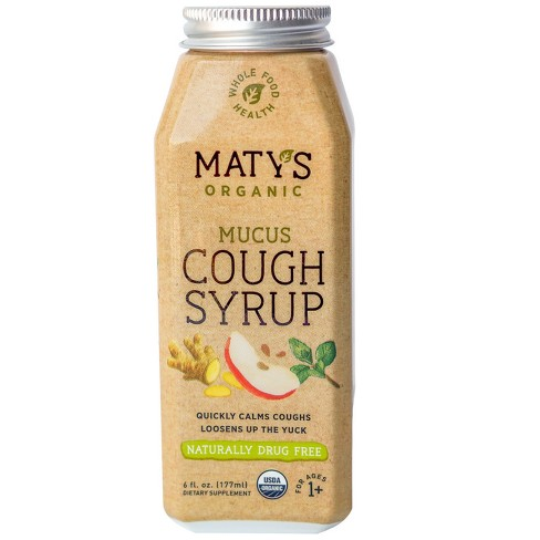 Maty's Organic Mucus Cough Syrup - 6 fl oz - image 1 of 4