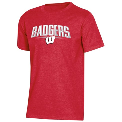 NCAA Wisconsin Badgers Boys' Short Sleeve Crew Neck T-Shirt - image 1 of 2