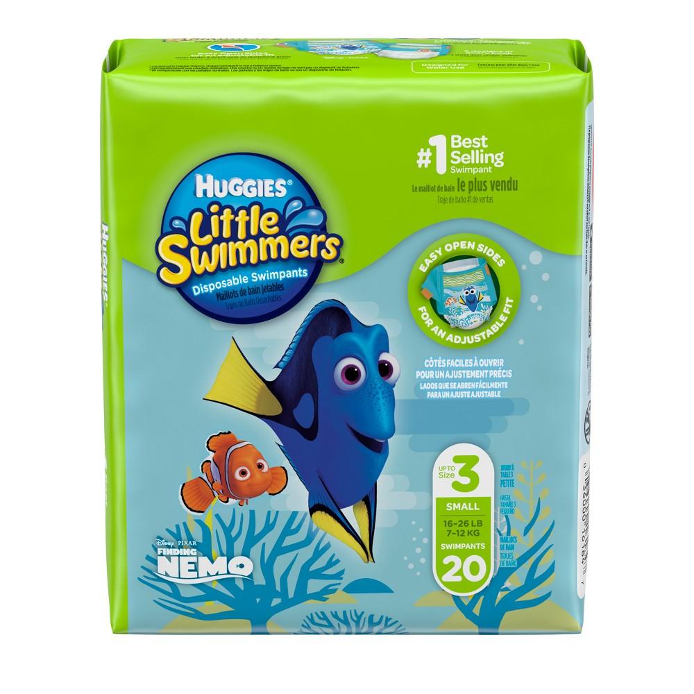 Huggies Little Swimmers Disposable Swimpants - Size S (20ct)
