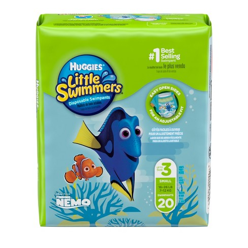 Huggies Little Swimmers Disposable Swimpants - Size S (20ct) - image 1 of 4