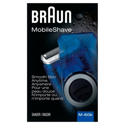 Braun Men's Mobile Electric Shaver - M-60B