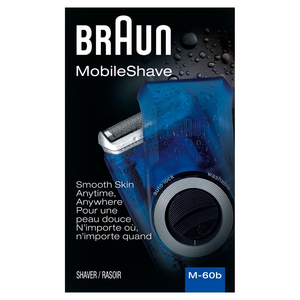 Image of Braun Men's Mobile Electric Shaver - M-60B