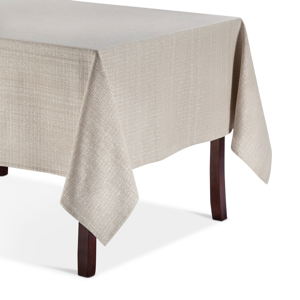 Brown Solid Tablecloth (60