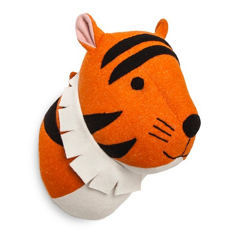 Tiger Head Wall Décor - Pillowfort™ - image 1 of 1