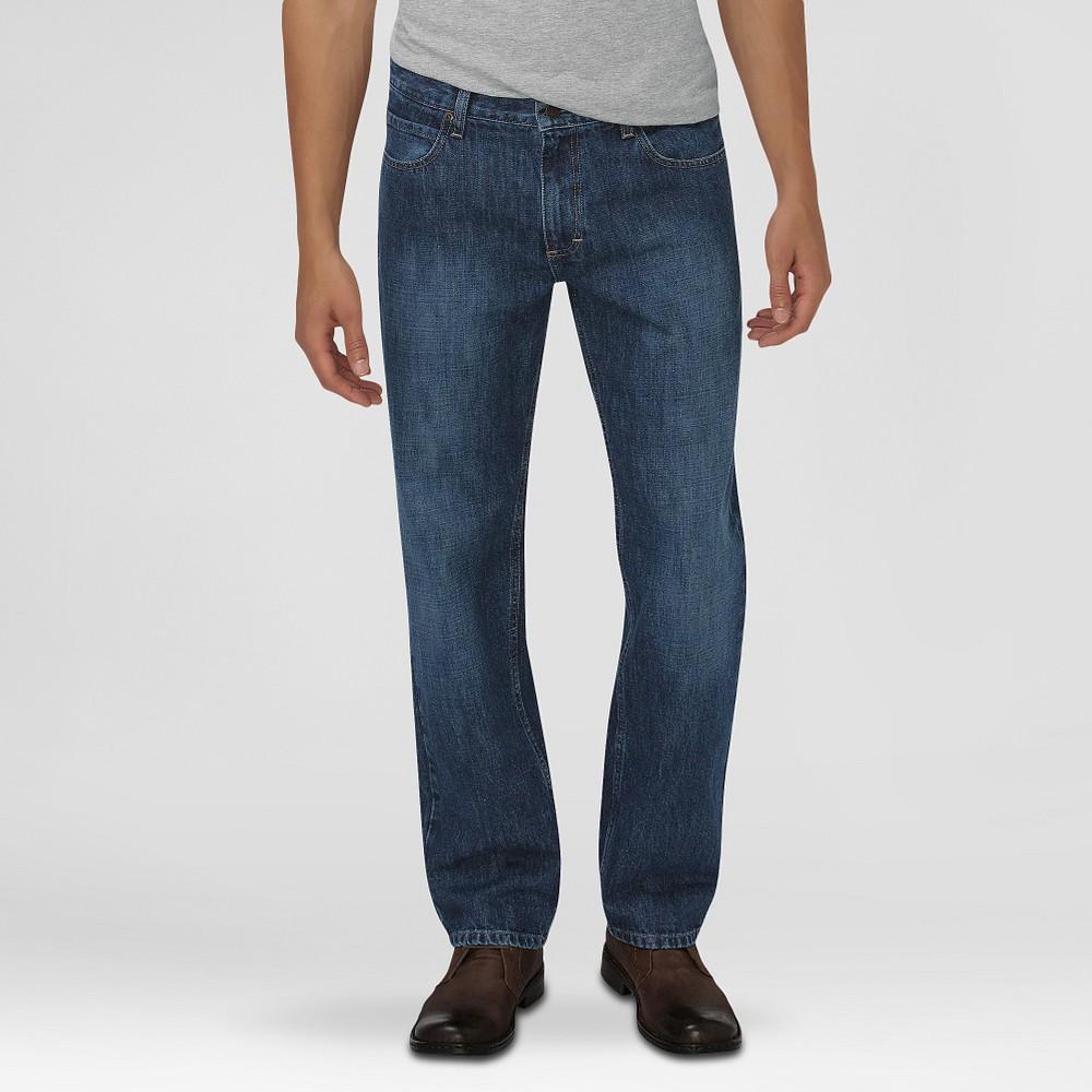 Dickies Men's Relaxed Fit Straight Leg 5-Pocket Jeans Medium Indigo 30X32, Medium Blue