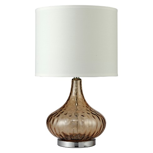 """24.5"""" Courtney Fluted Table Lamp - Ore International - image 1 of 2"""