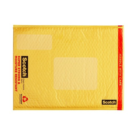 Scotch Bubble Cushion Mailer Super Strong Moisture Resistant 1-ct. 12.5in x 18in - image 1 of 1
