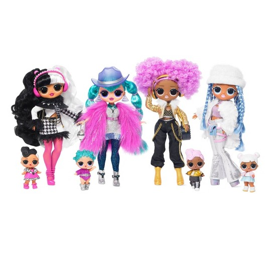 L.O.L. Surprise! O.M.G. Winter Disco Snowlicious Fashion Doll & Sister image number null