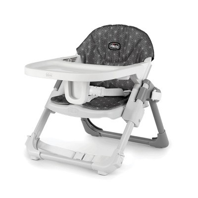 Chicco Take a Seat Booster High Chair - Gray Star
