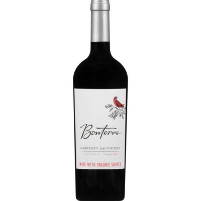 Bonterra Cabernet Sauvignon Red Wine - 750ml Bottle