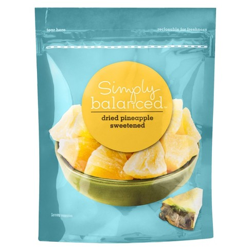Dried Pineapple Sweetened - 6oz - Simply Balanced™ - image 1 of 3