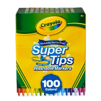 Crayola Super Tips Washable Markers 100ct