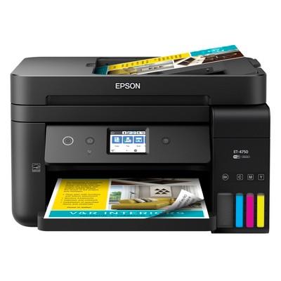 EcoTank 4750 SuperTank Printer