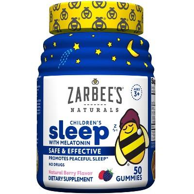 Zarbee's Naturals Children's Sleep with Melatonin Gummies - Natural Berry - 50ct