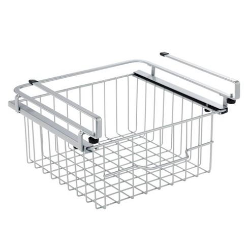 mDesign Metal Under Kitchen Pantry Shelf Hanging Bin Basket - image 1 of 4