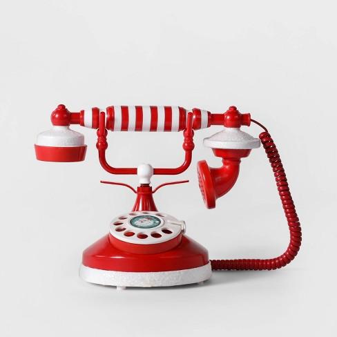 Animated Talking Santa Telephone Christmas Decor - Wondershop™ - image 1 of 1