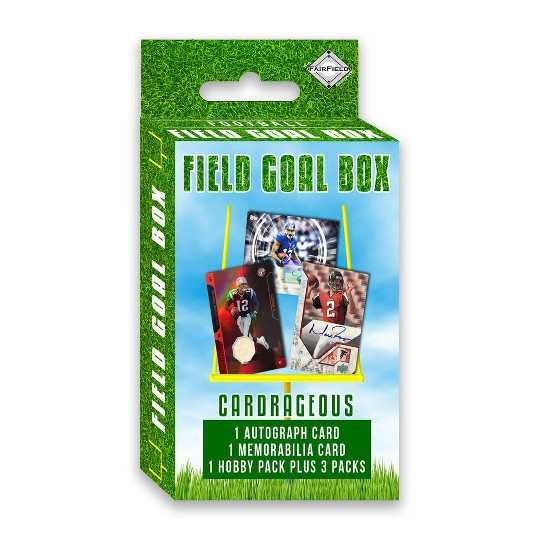 Football Field Goal Trading Card Hanger Box image number null