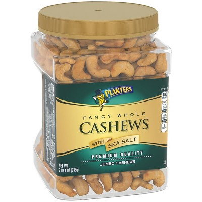 Nuts & Seeds: Planters Fancy Cashews