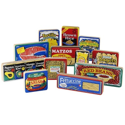 Guidecraft International Foods - Pretend Groceries