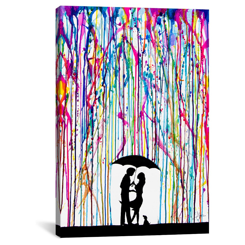 Two Step By Marc Allante Canvas Print 40 X 26