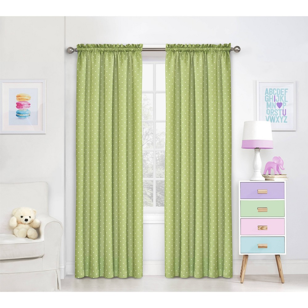 84 Dots Blackout Panel Green - Eclipse was $24.99 now $14.99 (40.0% off)