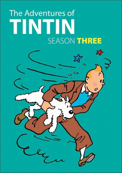 Adventures of tintin:Season three (DVD) - image 1 of 1