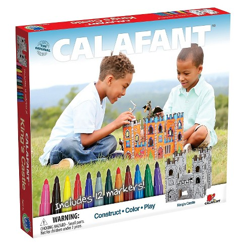Calafant - King's Castle Paper Craft Kit - image 1 of 3