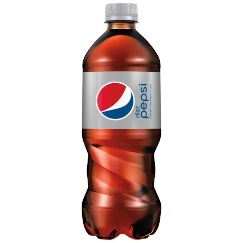 Diet Pepsi Cola - 20 fl oz Bottle - image 1 of 3