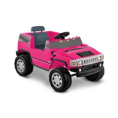Kid Motorz 6V Hummer H2 Powered Ride-On - Pink
